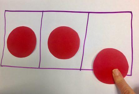 oral blending and segmenting - phoneme frame