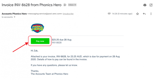 Invoice Pay Now