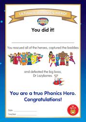 ultimate phonics hero