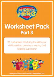buy phonics worksheets - part 3