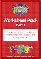buy phonics worksheets - part 1