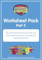 buy phonics worksheets - part 2