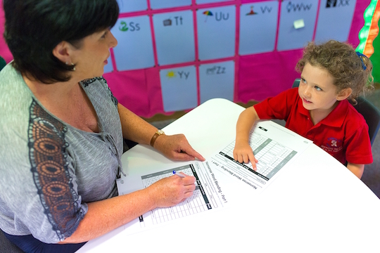using assessment for phonics catch-up