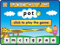 try Phonics Hero spelling game
