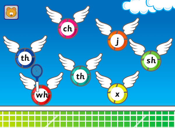 'lowercase letters in Phonics Hero
