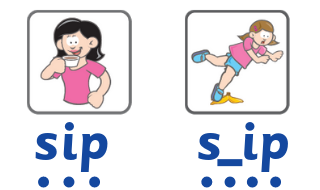 how children learn to read - sip and slip